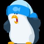 Пингвин Джордж: cтикер №18