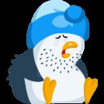 Пингвин Джордж: cтикер №21
