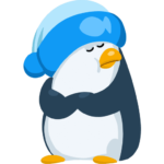 Пингвин Джордж: cтикер №22