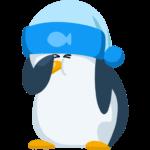 Пингвин Джордж: cтикер №24