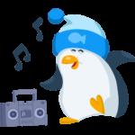 Пингвин Джордж: cтикер №26