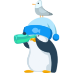 Пингвин Джордж: cтикер №27