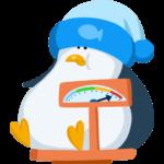 Пингвин Джордж: cтикер №28