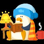 Пингвин Джордж: cтикер №29