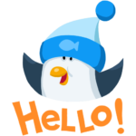 Пингвин Джордж: cтикер №33