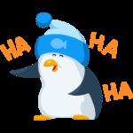 Пингвин Джордж: cтикер №34
