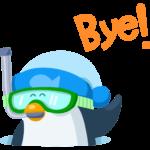 Пингвин Джордж: cтикер №36