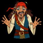 Капитан Джек Воробей: cтикер №2