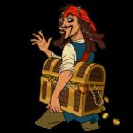 Капитан Джек Воробей: cтикер №21