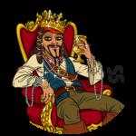 Капитан Джек Воробей: cтикер №24