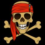 Капитан Джек Воробей: cтикер №25