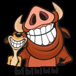 Тимон и Пумба: cтикер №16