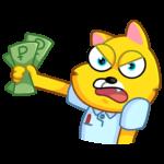Классный Кот: cтикер №16