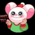 Кошки-мышки: cтикер №38