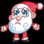 Мороз и Санта: cтикер №15