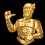 Звёздные Войны. Стороны Силы: cтикер №23