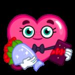 Валентинка: cтикер №10