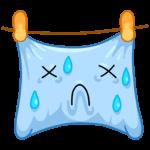 Подушка: cтикер №13