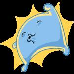 Подушка: cтикер №21