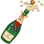 Новый год с Мари: cтикер №14