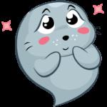 Соня (морской котик): cтикер №1