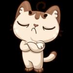 Котик: cтикер №33