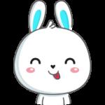Кролик: cтикер №3