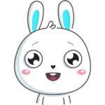 Кролик: cтикер №6