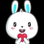 Кролик: cтикер №11