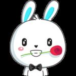Кролик: cтикер №12