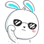 Кролик: cтикер №19