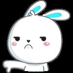 Кролик: cтикер №33