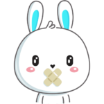 Кролик: cтикер №40