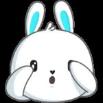 Кролик: cтикер №42