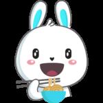 Кролик: cтикер №45
