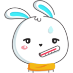 Кролик: cтикер №46