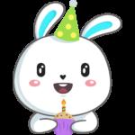 Кролик: cтикер №48