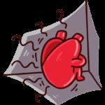 Сердце и Мозг: cтикер №19