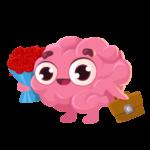 Мозг: cтикер №1
