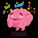 Мозг: cтикер №8