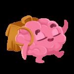 Мозг: cтикер №12