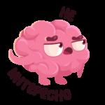 Мозг: cтикер №14