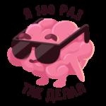 Мозг: cтикер №16