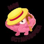 Мозг: cтикер №17