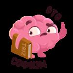 Мозг: cтикер №20