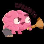 Мозг: cтикер №26