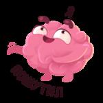 Мозг: cтикер №39