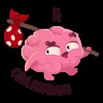 Мозг: cтикер №42
