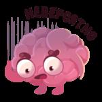 Мозг: cтикер №44