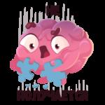 Мозг: cтикер №46